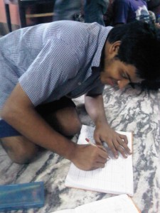 Sumon at work