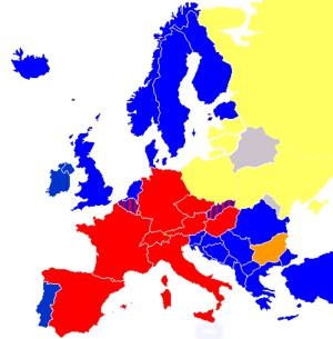 EU countries using dubbing